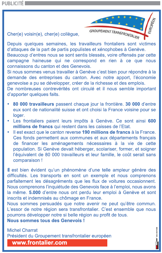 frontalier.com annonce TG 8 nov 09.png
